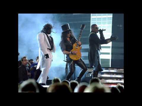 Jamie Foxx, T-Pain with Slash and Dougie Fresh - Blame It - Grammy Awards 2010 LIVE