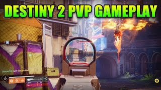 Destiny 2 - 27 Minutes of Raw PVP Gameplay