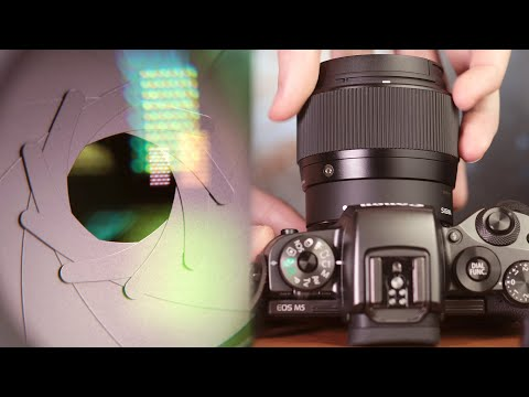 Sigma 56mm f/1.4 for EF-M Close Up Details