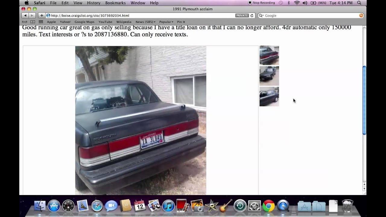 East Idaho Craigslist Cars And Trucks9.000+ Best Used
