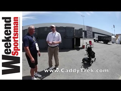 Robotic Golf Bag Cart System: By The Weekend Sportsman #caddytrekgolf
