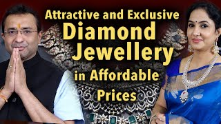 Attractive and Exclusive Diamond Jewellery in Affordable Prices || Sri Balaji Jewellers ||