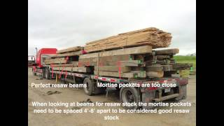 How To Prepare Reclaimed Resaw Stock To Sell Wholesale