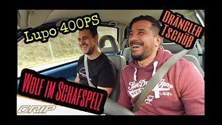 VW Lupo 400ps auf Autobahn   Drängler   Erstaunte Blicke   Grip mäßig unterwegs    Endstufe