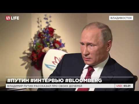Смотреть Путин описал, каким он видит будущего лидера России онлайн