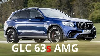 2017 Mercedes GLC 63 S AMG 4MATIC+ - V8 Exhaust Sound, 700 Nm, 510 hp