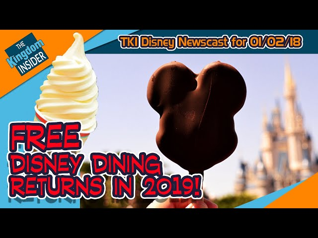 FREE DISNEY DINING 2019 is Live! No Depp for 'Pirates 6'!