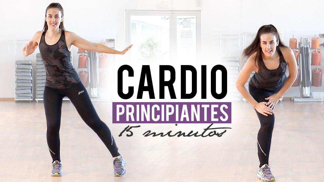 Rutina De Cardio Para Principiantes 15 Minutos Youtube