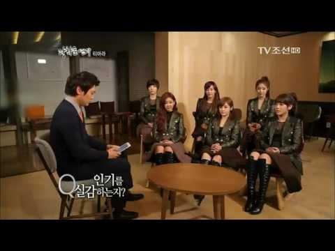 111209 T-ara - interview on TV Chosun