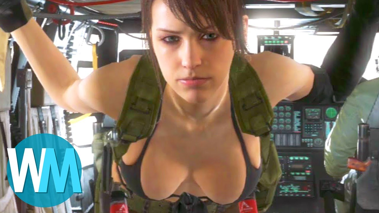 Sexy female game character