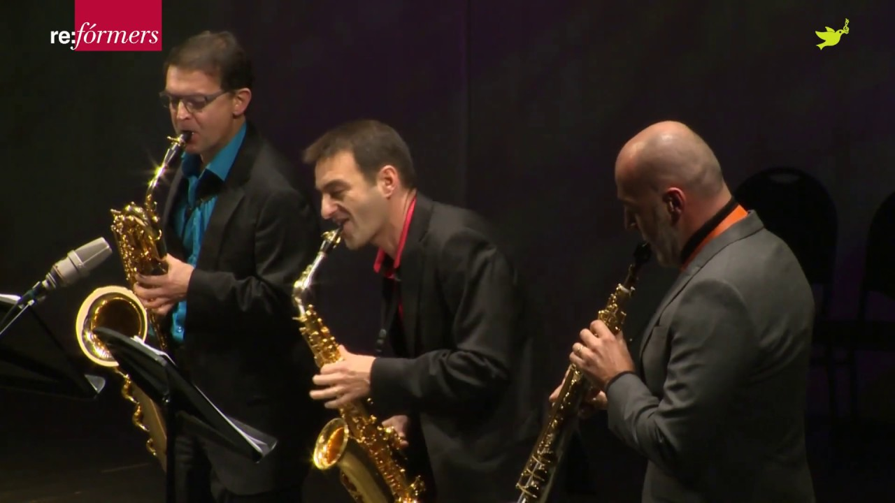 "J.D. Michat  ""Dark Side"" -  J.D. Michat, Habanera Saxophone Quartet - re:Formers Fest"