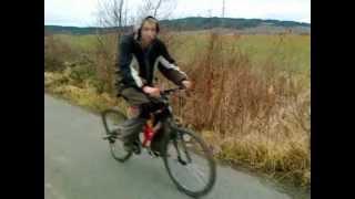Brutální osma na kole!!!