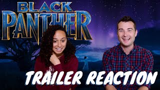 BLACK PANTHER Official Trailer REACTIONS!