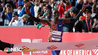Chicago Marathon 2019: One second separates winners | NBC Sports