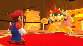 What If Super Mario Odyssey Had A REAL Bowser's Castle Level?