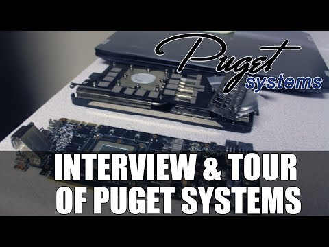 Interview & Tour of Puget Systems | Builder of Custom High Performance Rigs