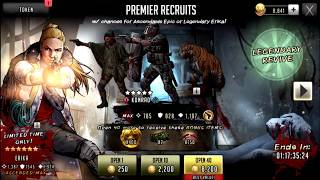 WALKING DEAD ROAD TO SURVIVAL, EPIC AND LEGENDARY ERIKA PACK OPEN!!!