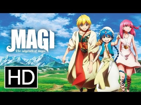 Magi: The Labyrinth of Magic is listed (or ranked) 2 on the list The Best Adventure Anime on Netflix