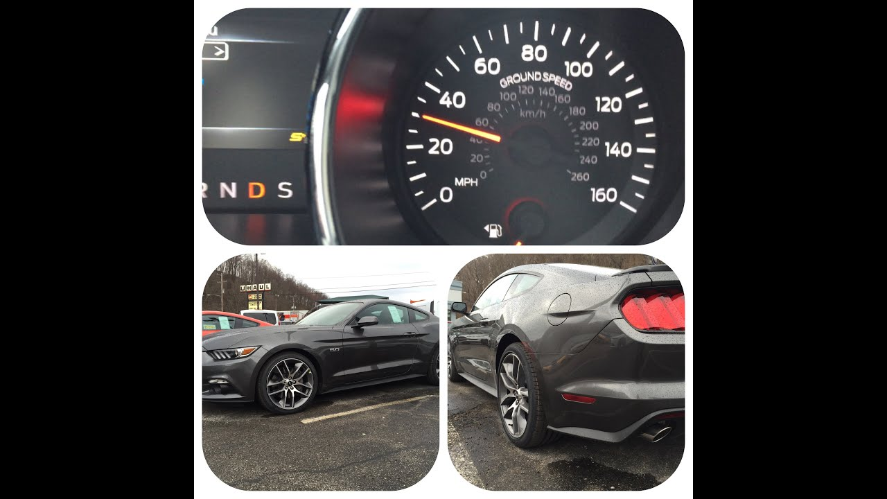 2015 Ford Mustang GT - 0 to 60 Mph ! - YouTube