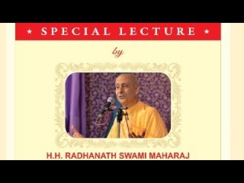 Lessons from Corona | Special Online Lecture by HH Radhanath Swami | 26 Jan 2021- 7:30PM Onwards