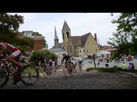 Snake Alley Criterium Compilation Burlington,IA