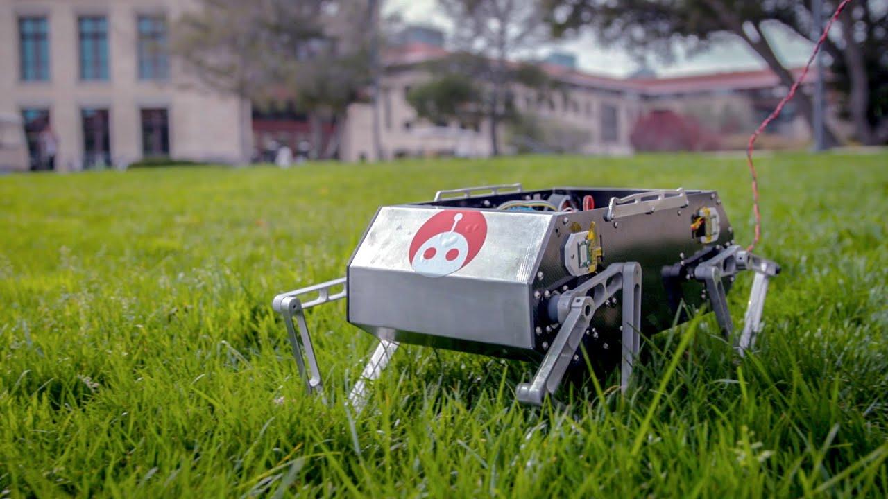Download Meet Doggo: Stanford's student built, four-legged robot