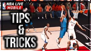 NBA Live Mobile Gameplay Tips and Tricks!