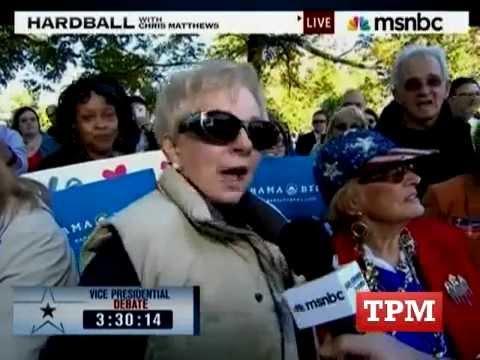 Woman At VP Debate Calls Obama A Communist