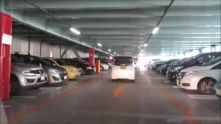 【駐車場前面展望69】港北TOKYO S.C.駐車場7階(港北TOKYUショッピングセンター)