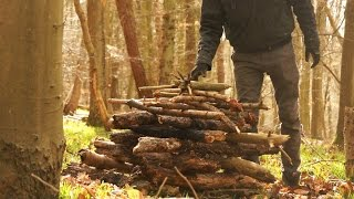The 'Log Cabin Fire' - Fire Build - HowTo