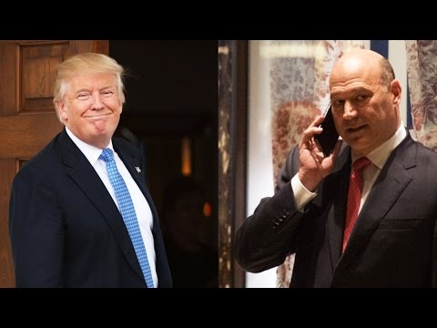 This Trump Administration Is Brought To You By Goldman Sachs