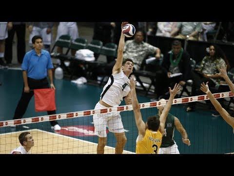 Hawaii Warrior Men's Volleyball 2018 - #3 Hawaii Vs #5 UC Irvine