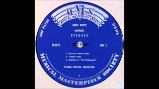 A Strauss Konzert, side 1, Josef Krips