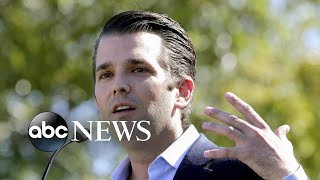 Trump Jr. agrees to testify before Senate committee