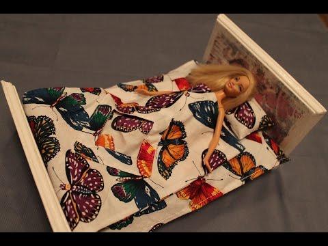 Как сшить для кукол постельное белье