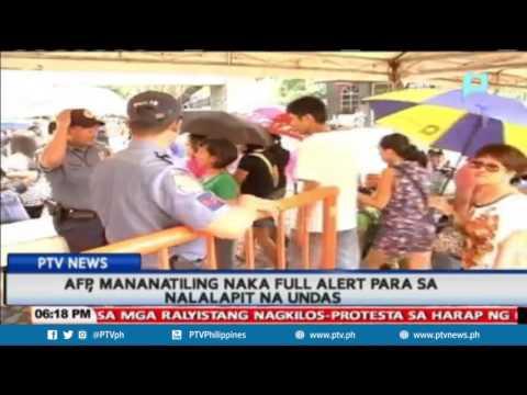 AFP, mananatiling naka-full alert para sa nalalapit na #Undas2016