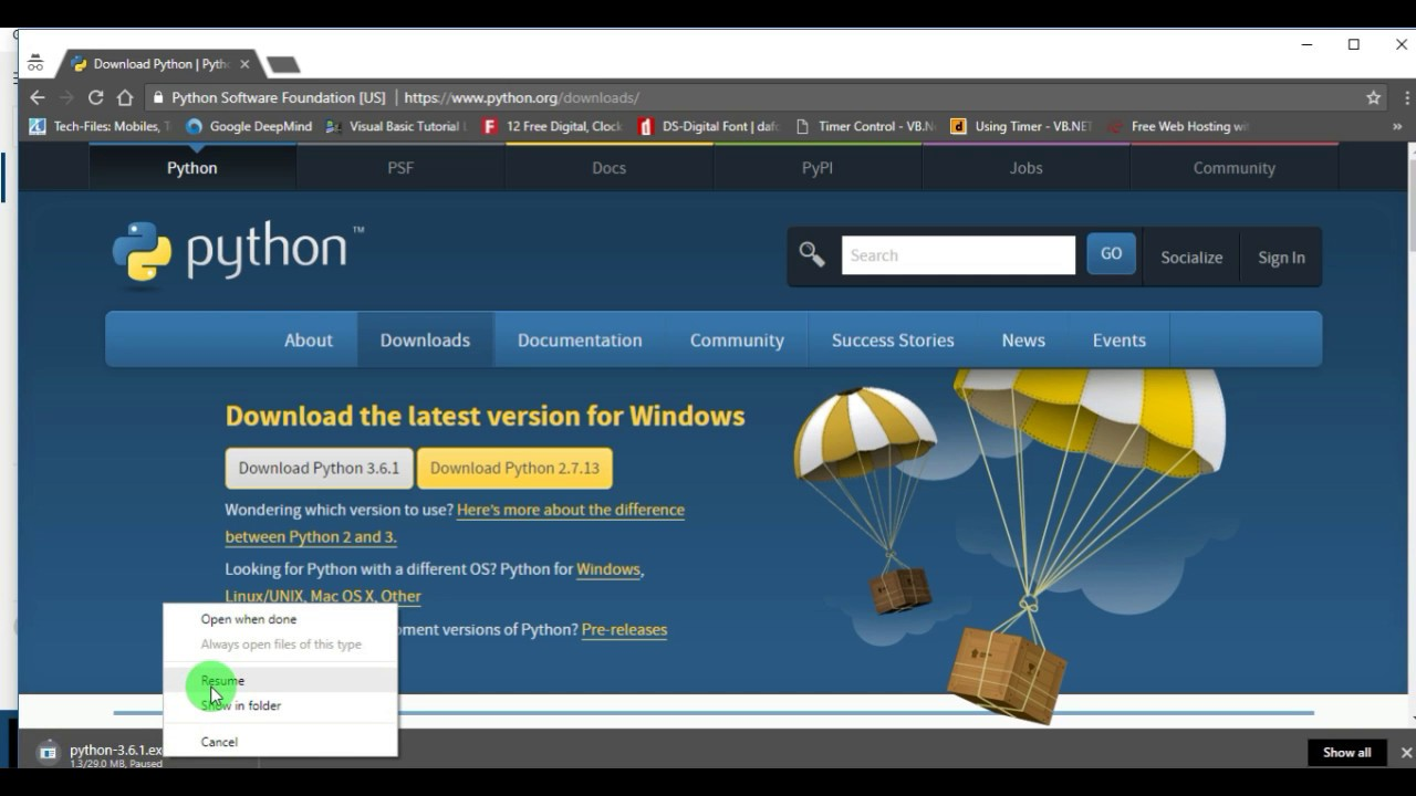 Python Tutorial :1 How to Download and install Python on ...