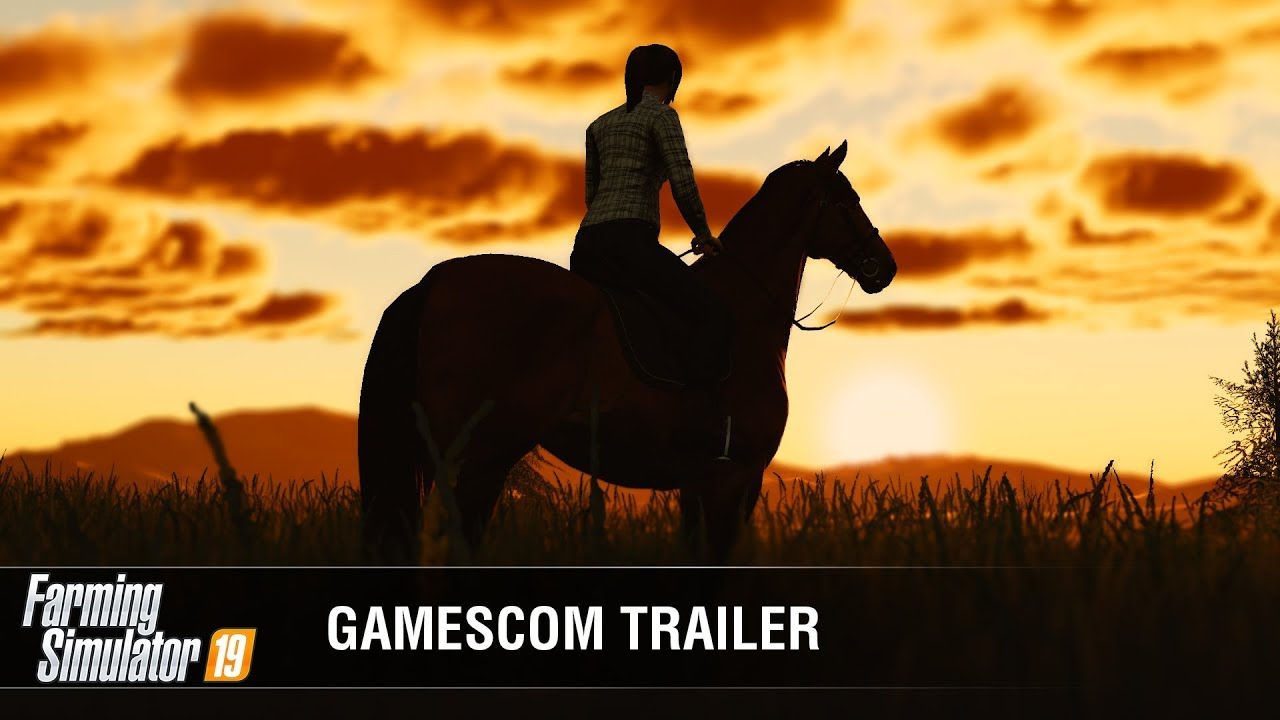 Farming Simulator 19 Official Gamescom Gameplay Trailer