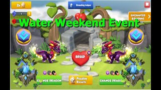 Water Ancient Weekend Event-Dragon Mania legends | Dragon Dice Event  | DML