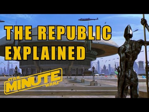 The History of the Galactic Republic (Canon) - Star Wars Minute