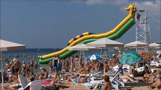 евпатория видео пляж