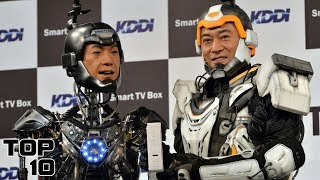 Top 10 Human-Machine Hybrids