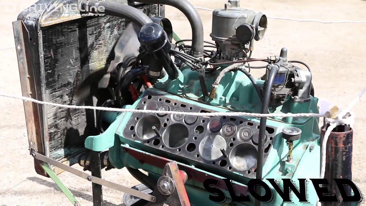 medium resolution of look inside flathead v8 engine while running