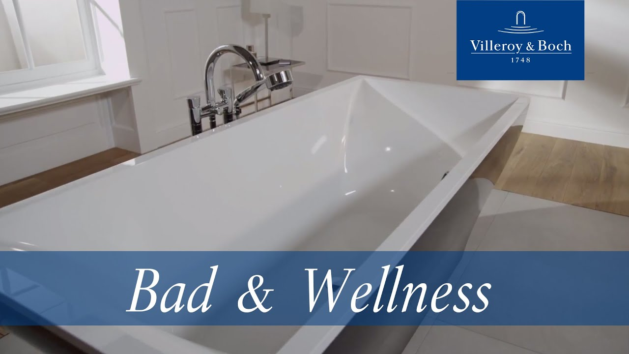 Badewanne - LaBelle Kollektion | Villeroy & Boch - YouTube