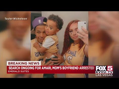 Mother's boyfriend faces murder charge in death of 2-year-old Amari Nicholson