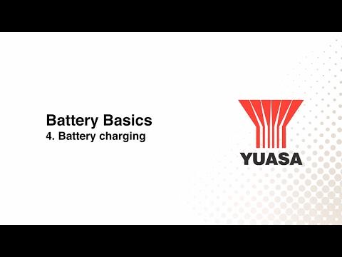 GS Yuasa - battery basics: 4. battery charging