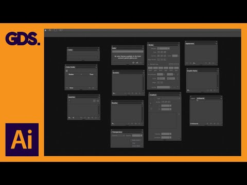 Panels & Workspaces in Adobe Illustrator Ep2/19 [Adobe Illustrator for Beginners]