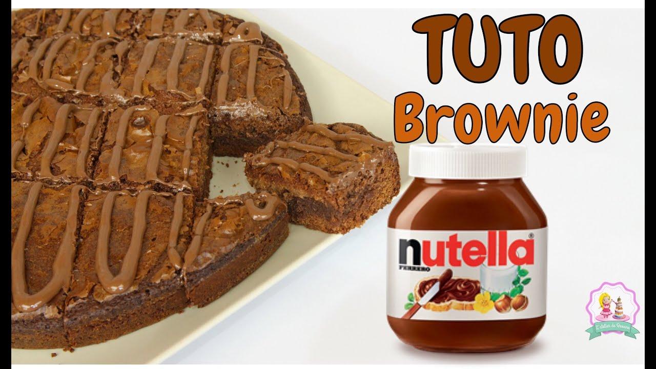 recette brownie nutella facile et rapide youtube. Black Bedroom Furniture Sets. Home Design Ideas