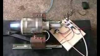 H80 Turbojet Engine - Startup