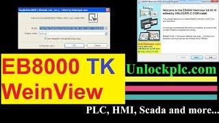 Cài Đặt Phần Mềm EB8000 WeinView TK6070iP TK6070iQ TK6070iH